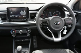 2020 Kia Rio YB MY21 S Silky Silver 6 Speed Manual Hatchback