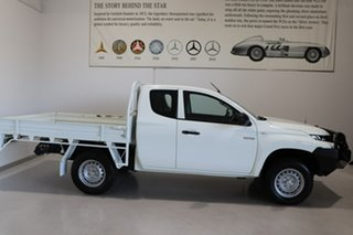 2019 Mitsubishi Triton MR MY19 GLX Club Cab White 6 Speed Manual Cab Chassis