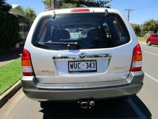 2002 Mazda Tribute Luxury Silver 4 Speed Automatic 4x4 Wagon