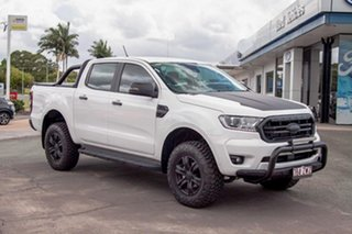 2020 Ford Ranger PX MkIII 2020.25MY XLT Arctic White 10 Speed Sports Automatic Double Cab Pick Up