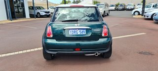 2006 Mini Hatch R50 MY05 Cooper Green 6 Speed Constant Variable Hatchback