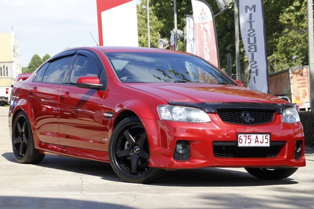 Used Holden Commodore VE II SV6 Toowoomba, 2011 Holden Commodore VE II SV6 Red 6 Speed Manual Sedan