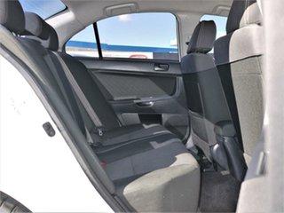 2011 Mitsubishi Lancer CJ ES White Constant Variable Sedan