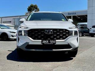2020 Hyundai Santa Fe Tm.v3 MY21 CRDi (AWD) White Cream 8 Speed Auto Dual Clutch Wagon.