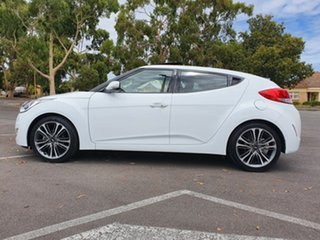 2016 Hyundai Veloster FS4 Series II Coupe D-CT White 6 Speed Sports Automatic Dual Clutch Hatchback