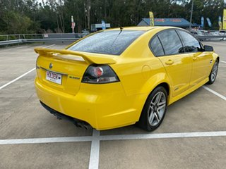 2011 Holden Commodore VE II MY12 SS Yellow 6 Speed Automatic Sedan.