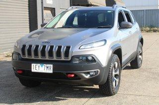2015 Jeep Cherokee KL MY15 Trailhawk (4x4) Grey 9 Speed Automatic Wagon.