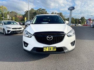 2012 Mazda CX-5 Maxx - Sport White Sports Automatic Wagon.