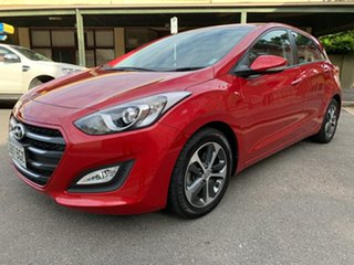 2015 Hyundai i30 GD3 Series II MY16 Active X Red/Black 6 Speed Sports Automatic Hatchback