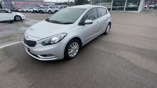 2015 Kia Cerato YD MY16 S Silver 6 Speed Sports Automatic Hatchback
