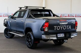 2018 Toyota Hilux GUN126R SR5 Double Cab Graphite 6 Speed Sports Automatic Utility.