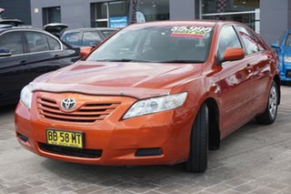 2009 Toyota Camry ACV40R Altise Orange 5 Speed Automatic Sedan