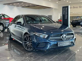 2020 Mercedes-Benz A-Class V177 800+050MY A35 AMG SPEEDSHIFT DCT 4MATIC Blue 7 Speed.