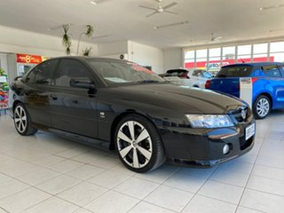 2005 Holden Commodore VZ 05 Upgrade SV8 Black 6 Speed Manual Sedan.