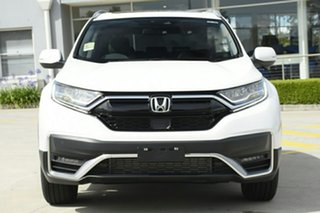 2020 Honda CR-V RW MY21 VTi FWD L7 Platinum White 1 Speed Constant Variable Wagon