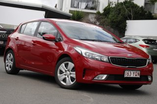 2018 Kia Cerato YD MY18 S Red 6 Speed Sports Automatic Hatchback.