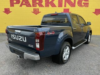2016 Isuzu D-MAX MY15 LS-M Crew Cab Blue 5 Speed Sports Automatic Utility