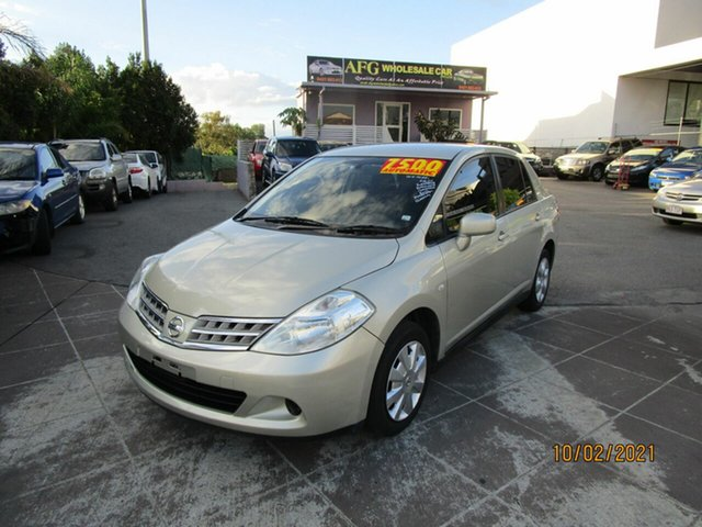 Used Nissan Tiida C11 MY07 ST Coorparoo, 2010 Nissan Tiida C11 MY07 ST Gold 4 Speed Automatic Sedan
