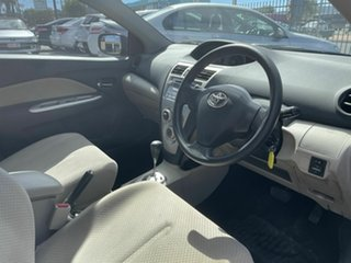 2007 Toyota Yaris NCP93R YRS Red 4 Speed Automatic Sedan