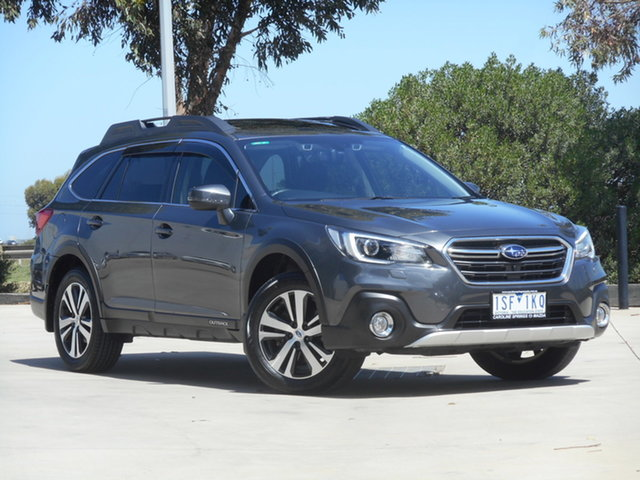 Used Subaru Outback B6A MY19 2.5i CVT AWD Premium Ravenhall, 2019 Subaru Outback B6A MY19 2.5i CVT AWD Premium Grey 7 Speed Constant Variable Wagon
