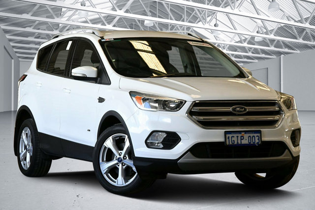 Used Ford Escape ZG Trend (AWD) Perth Airport, 2017 Ford Escape ZG Trend (AWD) Frozen White 6 Speed Automatic SUV