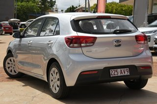 2020 Kia Rio YB MY21 S Silky Silver 6 Speed Manual Hatchback.