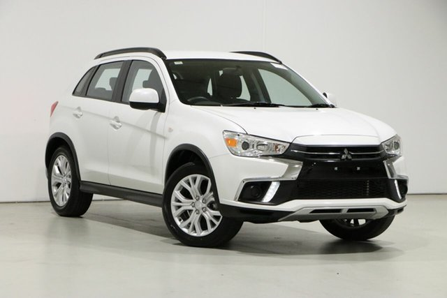 Used Mitsubishi ASX XC MY19 ES (2WD) Bentley, 2019 Mitsubishi ASX XC MY19 ES (2WD) White Continuous Variable Wagon