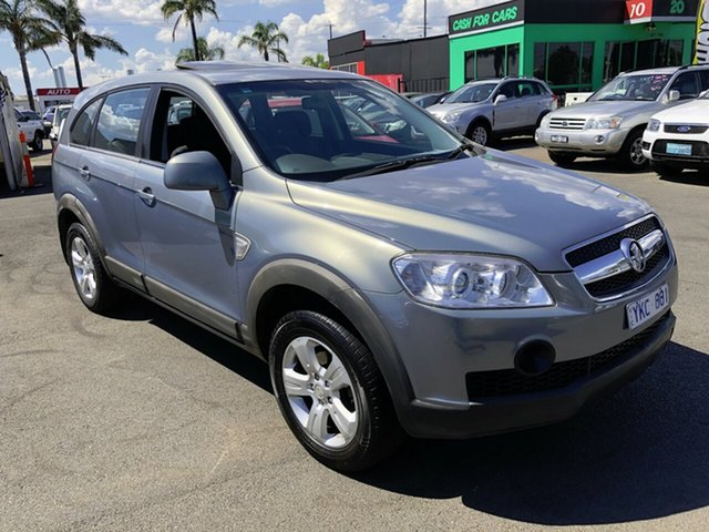 Used Holden Captiva CG MY10 SX (4x4) Cheltenham, 2010 Holden Captiva CG MY10 SX (4x4) Grey 5 Speed Automatic Wagon