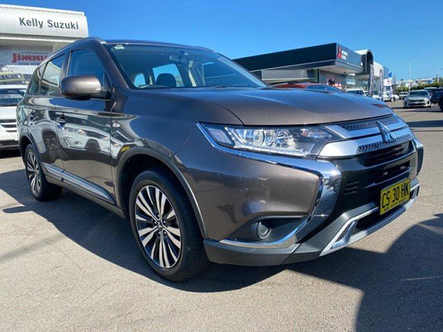 Used Mitsubishi Outlander ZL MY19 ES AWD Cardiff, 2018 Mitsubishi Outlander ZL MY19 ES AWD Grey 6 Speed Constant Variable Wagon