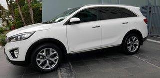 2016 Kia Sorento UM MY17 Platinum (4x4) White 6 Speed Automatic Wagon