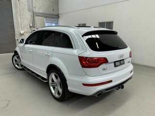 2014 Audi Q7 4L MY14 TDI Tiptronic Quattro White 8 Speed Sports Automatic Wagon
