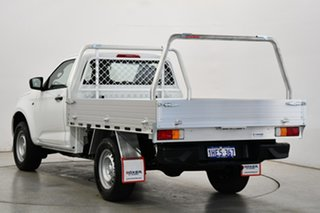 2020 Isuzu D-MAX RG MY21 SX 4x2 High Ride White & Silver 6 Speed Sports Automatic Cab Chassis