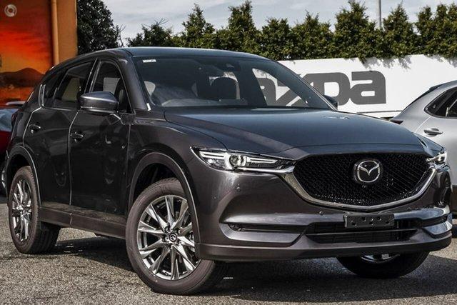 New Mazda CX-5 KF4WLA Akera SKYACTIV-Drive i-ACTIV AWD Waitara, 2020 Mazda CX-5 KF4WLA Akera SKYACTIV-Drive i-ACTIV AWD Grey 6 Speed Sports Automatic Wagon