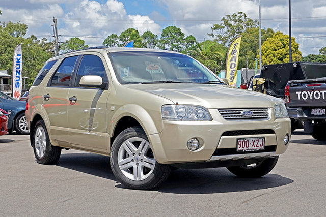 Used Ford Territory SY Ghia Chandler, 2008 Ford Territory SY Ghia Kashmir 4 Speed Sports Automatic Wagon