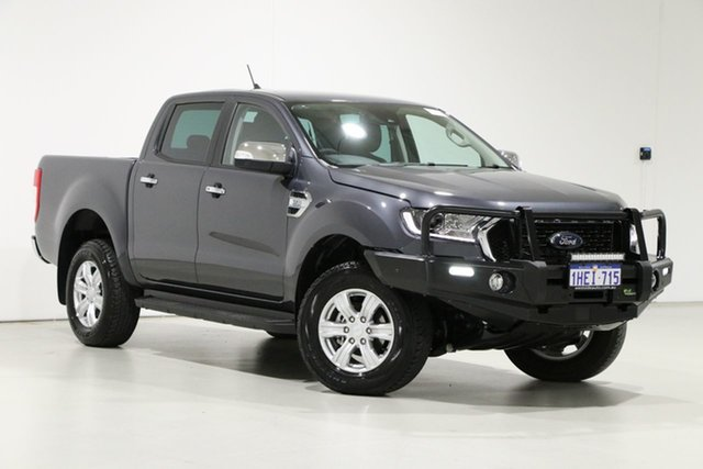 Used Ford Ranger PX MkIII MY21.25 XLT 3.2 (4x4) Bentley, 2020 Ford Ranger PX MkIII MY21.25 XLT 3.2 (4x4) Grey 6 Speed Automatic Double Cab Pick Up