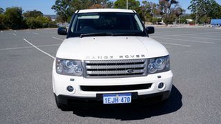 2008 Land Rover Range Rover Sport L320 09MY TDV6 White 6 Speed Sports Automatic Wagon.