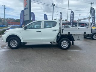 2016 Mitsubishi Triton MQ MY16 GLX Double Cab 4x2 White 6 Speed Manual Utility