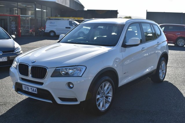 Used BMW X3 F25 MY1213 xDrive20i Steptronic Wantirna South, 2014 BMW X3 F25 MY1213 xDrive20i Steptronic White 8 Speed Automatic Wagon
