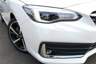 2020 Subaru Impreza MY21 2.0I-S (AWD) Crystal White Continuous Variable Hatchback.