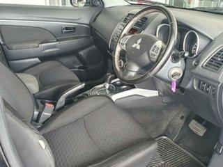 2011 Mitsubishi ASX XA MY11 2WD Black 6 Speed Constant Variable Wagon.