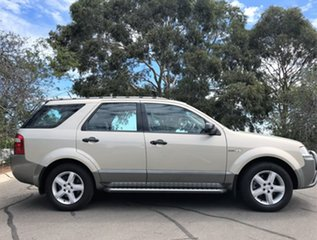 2007 Ford Territory SY TS AWD Gold 6 Speed Sports Automatic Wagon