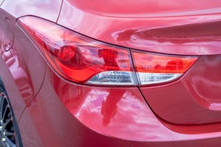 2012 Hyundai Elantra MD2 Active Red 6 Speed Sports Automatic Sedan