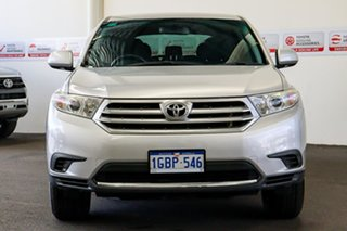 2012 Toyota Kluger GSU40R MY12 KX-R 2WD Silver Pearl 5 Speed Sports Automatic Wagon