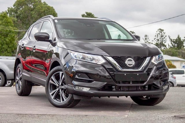 Used Nissan Qashqai J11 Series 2 ST-L X-tronic Gympie, 2019 Nissan Qashqai J11 Series 2 ST-L X-tronic Pearl Black 1 Speed Constant Variable Wagon