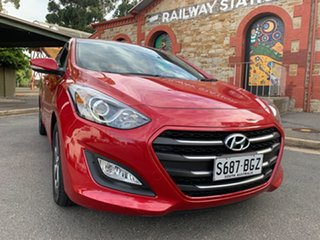 2015 Hyundai i30 GD3 Series II MY16 Active X Red/Black 6 Speed Sports Automatic Hatchback.