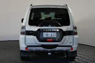2015 Mitsubishi Pajero NX MY16 GLS White 5 Speed Sports Automatic Wagon