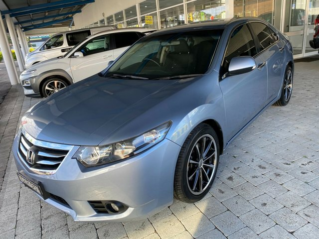 Used Honda Accord Euro Luxury Taree, 2011 Honda Accord Euro Luxury Celestial Blue Automatic Sedan