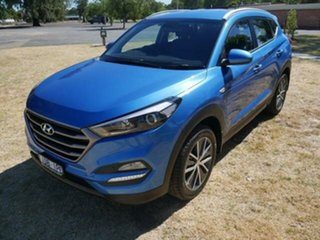2015 Hyundai Tucson TL Active X (FWD) Blue 6 Speed Automatic Wagon
