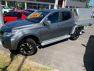 2016 Mitsubishi Triton MQ MY17 Exceed Double Cab Titanium 5 Speed Sports Automatic Utility.