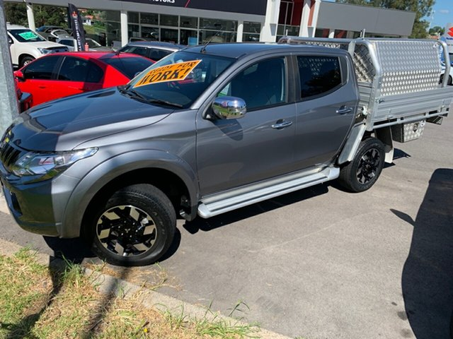 Used Mitsubishi Triton MQ MY17 Exceed Double Cab Maitland, 2016 Mitsubishi Triton MQ MY17 Exceed Double Cab Titanium 5 Speed Sports Automatic Utility